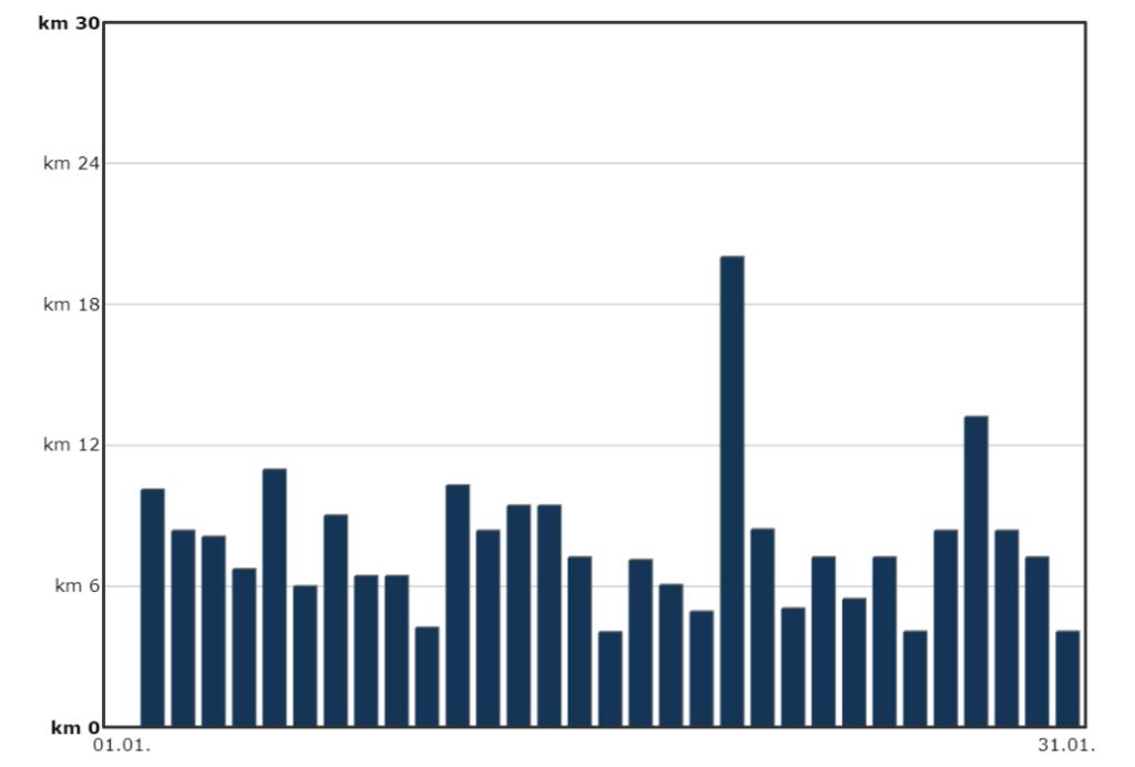 Streakrunner-Statistik