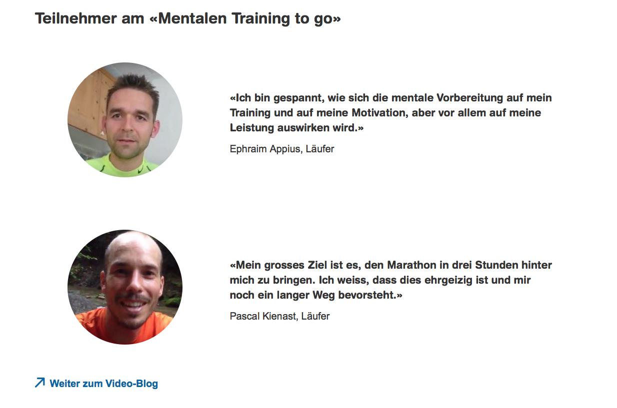 Zürich Marathon IAP-Betreuung