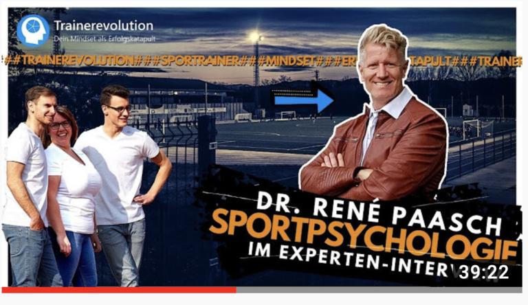 Dr. René Paasch: Trainer müssen Stärken zusammenführen können