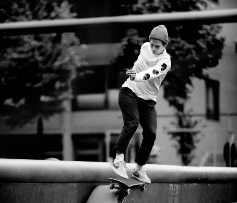 """Lea Schairer: """"Musik sollten Skateboarder am besten ausblenden"""""""
