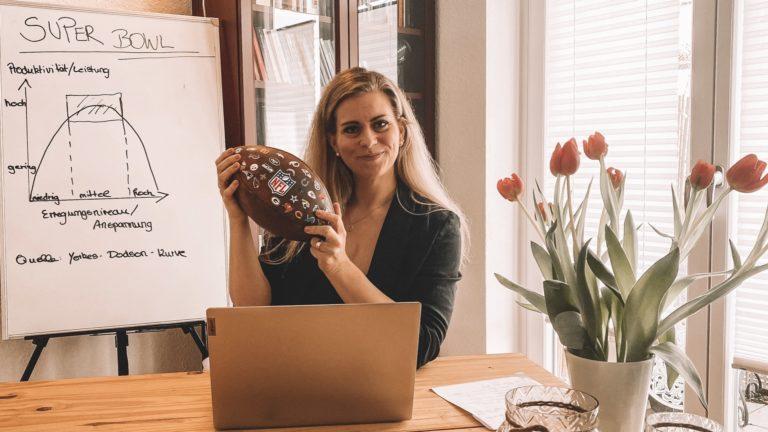 Miriam Kohlhaas: Sportpsychologie für Handwerker und Handwerkerinnen